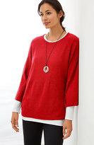 J. Jill Pure Jill Kimono-Sleeve Sweater