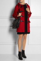 Burberry Hooded wool duffle coat