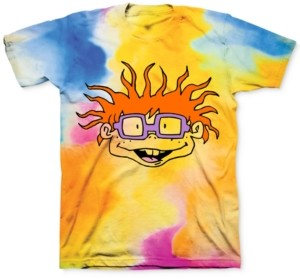 Freeze 24-7 7 Tie Dye Rugrats Chuckie Men's Graphic T-Shirt