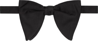 Gucci Long silk faille bow tie