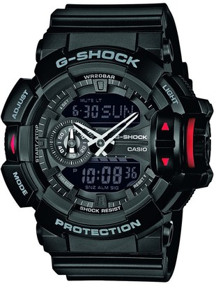 Casio Men's G-Shock Analogue/Digital Quartz Watch with Resin Strap GA-400-1BER