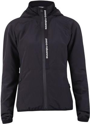 Paco Rabanne Logo Print Hooded Jacket