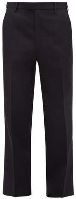 Prada Straight Leg Tailored Trousers - Mens - Navy