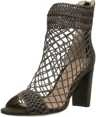 Rachel Zoe Women's Callie PEEP-Toe Bootie Heeled Sandal