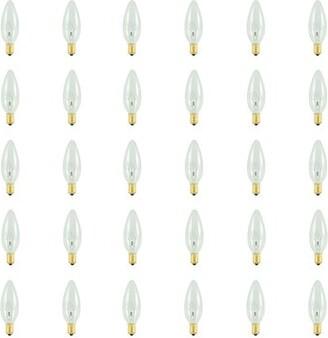 Bulbrite Industries 40 Watt B10 Incandescent, Dimmable Light Bulb, (2700K) E14/European Base Industries