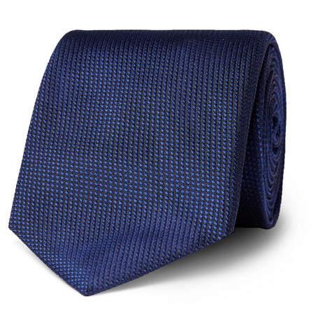HUGO BOSS 7.5cm Silk-Jacquard Tie - Men - Navy