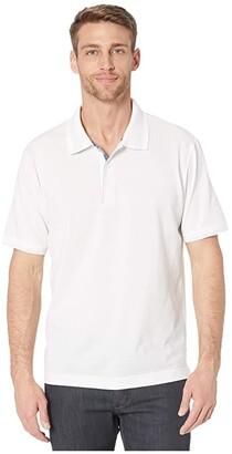 Robert Graham Champion Polo (Black) Men's Clothing