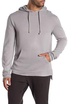M.SINGER Hood Long Sleeve Pullover Sweater