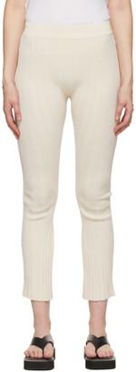 System Off-White Slit Hem Lounge Pants