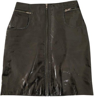 Maje Black Patent leather Skirts