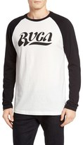 RVCA Men's Wipeout Raglan