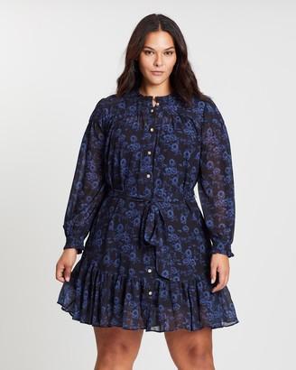 Cooper St CS CURVY Endless Love Long Sleeve Mini Dress