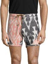 G Star Ikat Cotton Board Shorts