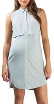 Topshop Women's Sleeveless Maternity Shirtdress