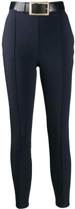 Elisabetta Franchi cropped skinny-fit trousers