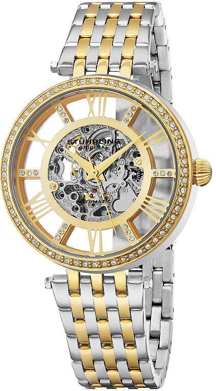 Stuhrling Original Womens Two Tone Bracelet Watch-Sp16316
