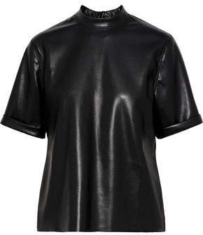 Nanushka Kaden Vegan Leather Top