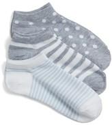 Nordstrom Women's 3-Pack Ankle Socks