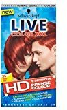 Schwarzkopf Live Color Xxl Hd 35 Real Red Permanent Red Hair Dye - Pack of 2