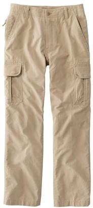 L.L. Bean Men's Allagash Cargo Pants, Natural Fit, Lined