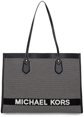 MICHAEL Michael Kors Jacquard Fabric Tote