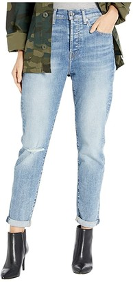 7 For All Mankind High-Waist Josefina in Nolita Blue 3 (Nolita Blue 3) Women's Jeans