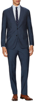 Kenneth Cole New York Solid Wool Notch Lapel Suit