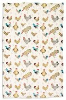"Sur La Table Jacques Pépin Collection Assorted Chickens Kitchen Towel, 28"" x 18"""