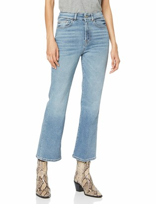7 For All Mankind Women's Hw Cropped Boot Bootcut Jeans