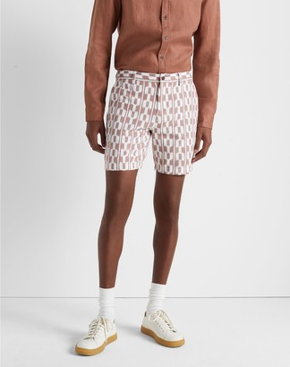"Club Monaco Baxter Ikat Stripe 7"" Shorts"