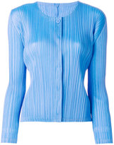 Pleats Please By Issey Miyake pleated cardigan