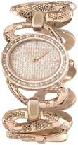Just Cavalli Women's R7253577507 Sinous Gold Stainless steel Band Watch.