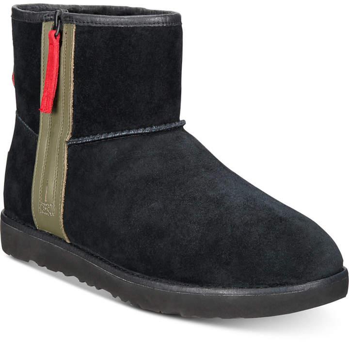 e71c3964f3a Men Classic Waterproof Mini Zip Boots Men Shoes
