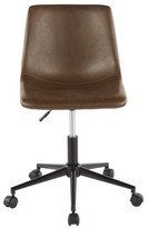 Bronx Amendola Task Chair Ivy Upholstery Color: Espresso