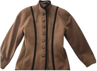 Guy Laroche Brown Wool Jacket for Women