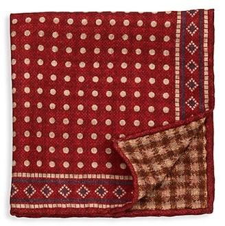Brunello Cucinelli Wool Pocket Square
