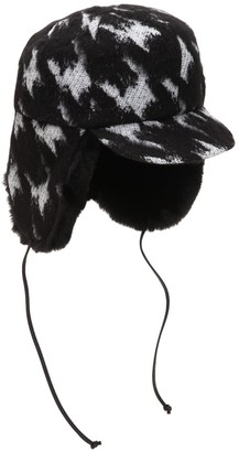 Eugenia Kim Sammy Houndstooth Trapper Hat