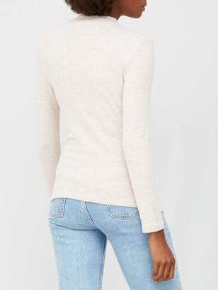 Very Snit Pearl Turtle Neck - Oatmeal