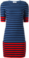 Sonia Rykiel striped knit dress - women - Cotton/Polyester - L