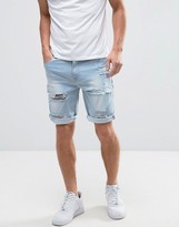 Light Blue Mens Shorts - ShopStyle
