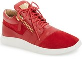 Giuseppe Zanotti Side Zip Sneaker (Men)