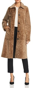 Maximilian Furs x Michael Kors Lamb Shearling Long Coat - 100% Exclusive