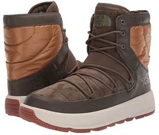 The North Face Ozone Park Winter Boot (Tarmac Green/Cedar Brown) Men's Cold Weather Boots