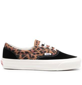 Vans Vault UA OG Era LX animal-print sneakers