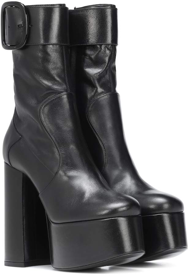 d4f1fdbfedb Saint Laurent Women's Boots - ShopStyle