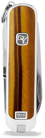 David Yurman Tiger's Eye Swiss Army® Knife, Brown