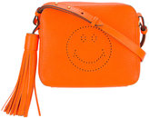 Anya Hindmarch Smiley crossbody bag - women - Calf Leather/Leather - One Size