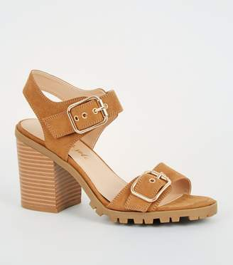 New Look Buckle Strap Block Heels