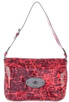 Mulberry Leopard Patent Leather Bag