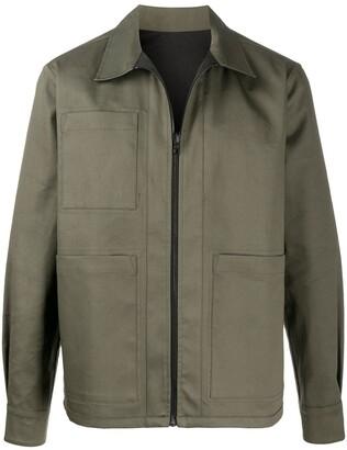 Raeburn Millerain reversible shirt jacket